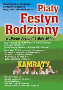 Festyn 2014 - Plakat