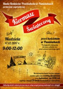 Plakat kiermaszu świątecznego